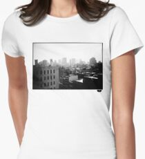 cityscape Women's Fitted T-Shirt