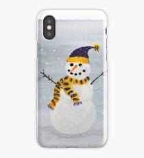 Snowman-Minnesota Style iPhone Case