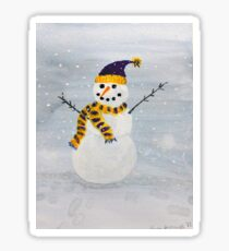 Snowman-Minnesota Style Sticker