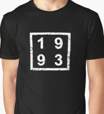 Birthday Born in 1993 Graphic T-Shirt