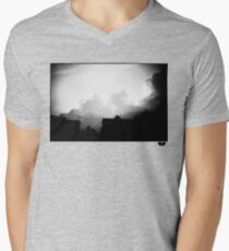 sky Mens V-Neck T-Shirt
