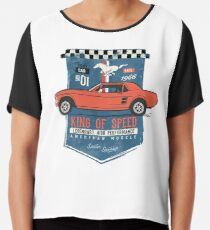 Ford Mustang - King Of Speed Chiffontop