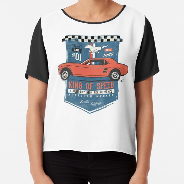 Ford Mustang - King of Speed Chiffon Top