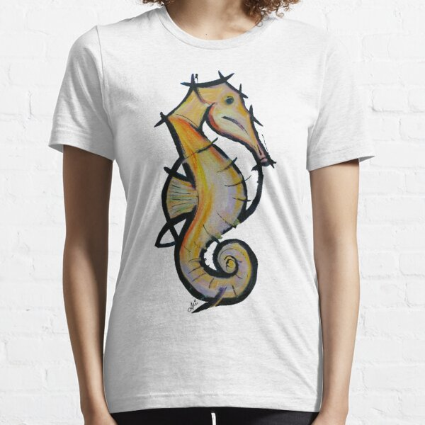 Large Seahorse Essential T-Shirt