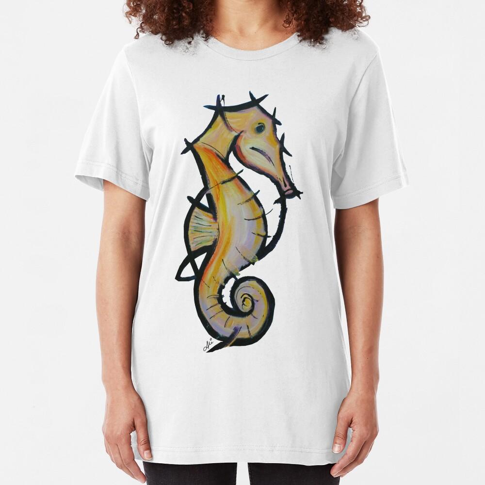 Large Seahorse Slim Fit T-Shirt