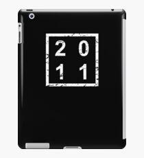 Birthday Born in 2011 iPad Case/Skin