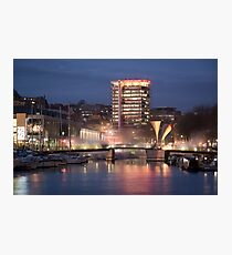 Bristol Harbourside Photographic Print