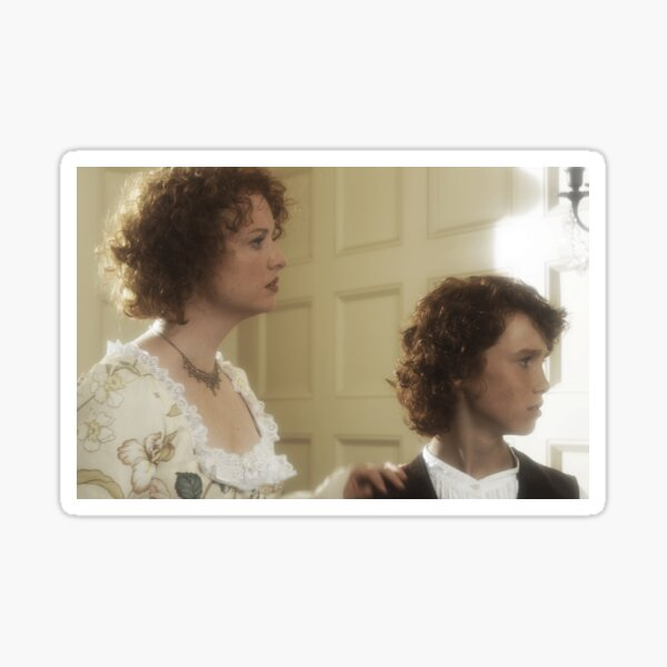 Lady Catherine & Young Henry Stiles Sticker