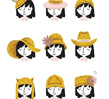 Birthday Hats by Holly Hatam