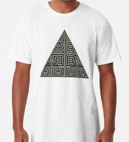 Sierpinski VII Long T-Shirt