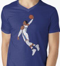 Russell Westbrook Dunk V-Neck T-Shirt