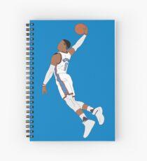 Russell Westbrook Dunk Spiral Notebook
