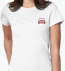 Mini Cooper Icon Women's Fitted T-Shirt