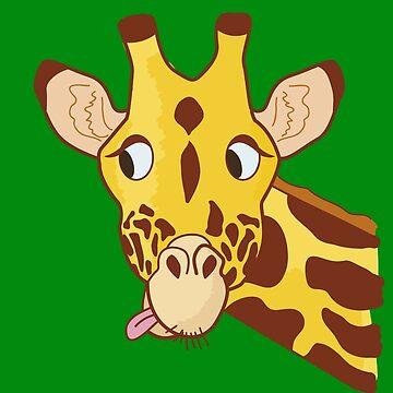 Hi there Giraffe! by tunke