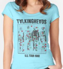 talking heads inspired tour tee Women's Fitted Scoop T-Shirt