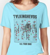 talking heads inspired tour tee Women's Relaxed Fit T-Shirt