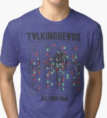 talking heads inspired tour tee Tri-blend T-Shirt