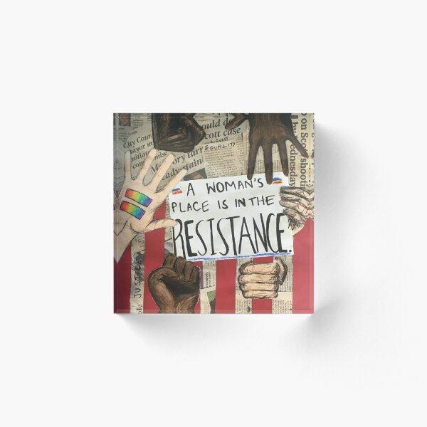 resist Acrylic Block