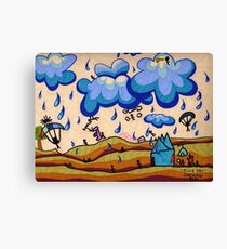 Mother Earth, Father Sky Canvas Print
