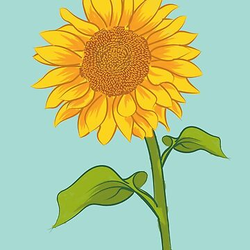 Sunny Sunflower in Summer by tunke