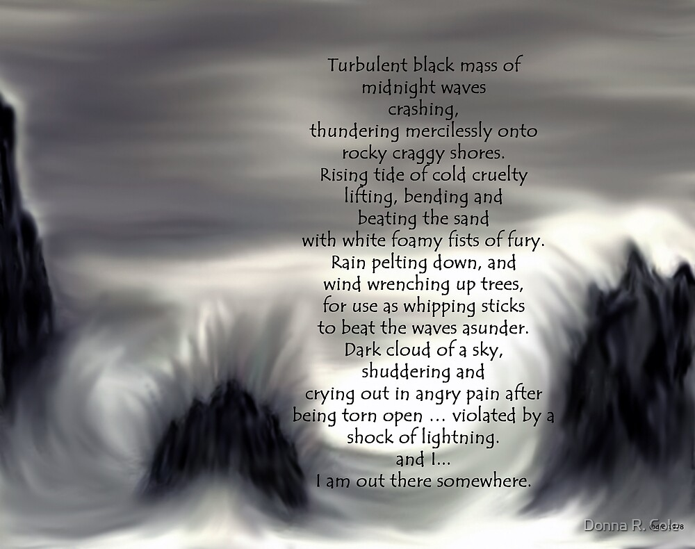 Turbulence by Donna R. Cole