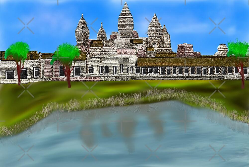 Angkor Wat  by Sandra Chung