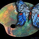 Butterfly Of The Palette  by Juhan Rodrik