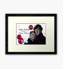 Happy Holidays 2 Framed Print