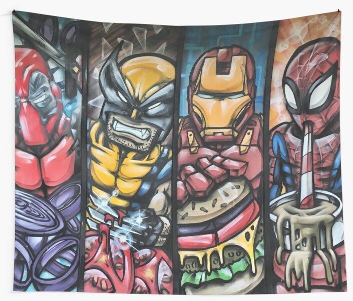 Pop Culture Street Art \