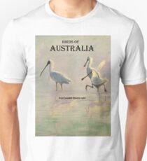 Birds of Australia - Royal Spoonbill (Platalea regia) T-Shirt