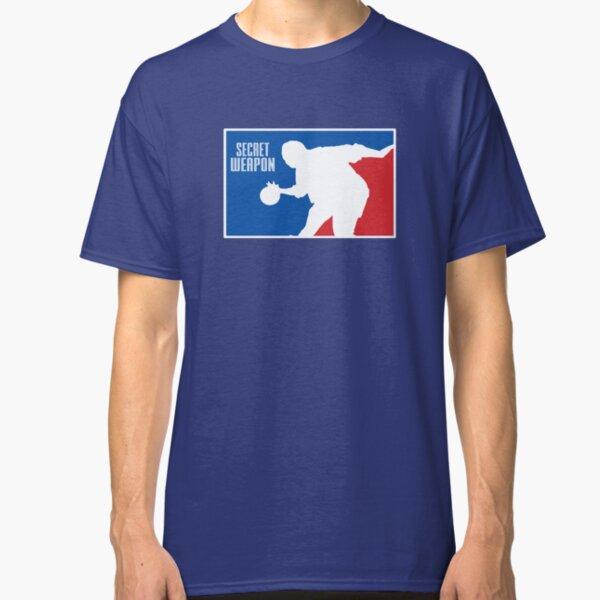 Secret Weapon Stanley Hudson NBA Logo Classic T-Shirt