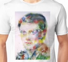 AYN RAND - watercolor portrait Unisex T-Shirt