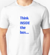 Think INSIDE the box #3 T-Shirt