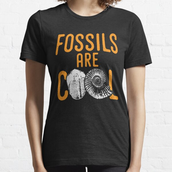 Fossil tshirt saying fossils are cool - ideal paleontology gift idea Essential T-Shirt