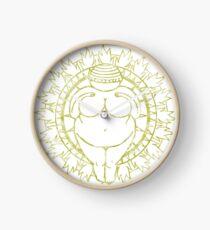 Venus of Willendorf Gold Mandala Clock