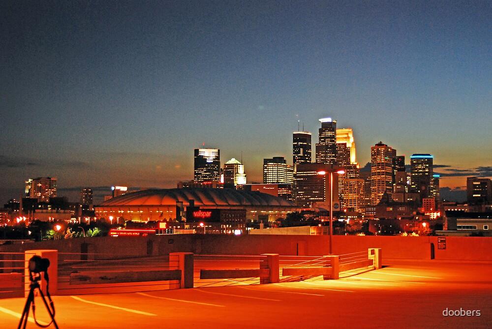Downtown, Minneapolis by doobers