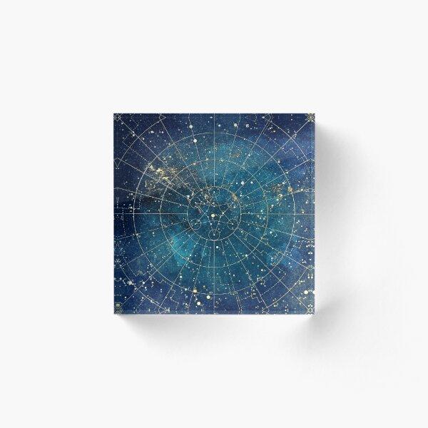 Star Map :: City Lights Acrylic Block