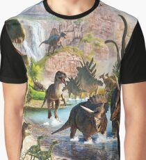 Jurassic Dinosaur Graphic T-Shirt