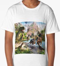 Jurassic Dinosaur Long T-Shirt