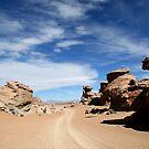 Siloli Desert by adamgrell