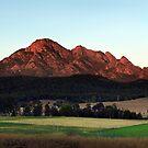 Day Break at Mount Barney  by Barbara Burkhardt
