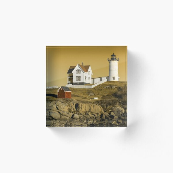 Nubble Light #2 Acrylic Block