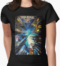 The Sistine Chapel, Revisited Women's Fitted T-Shirt