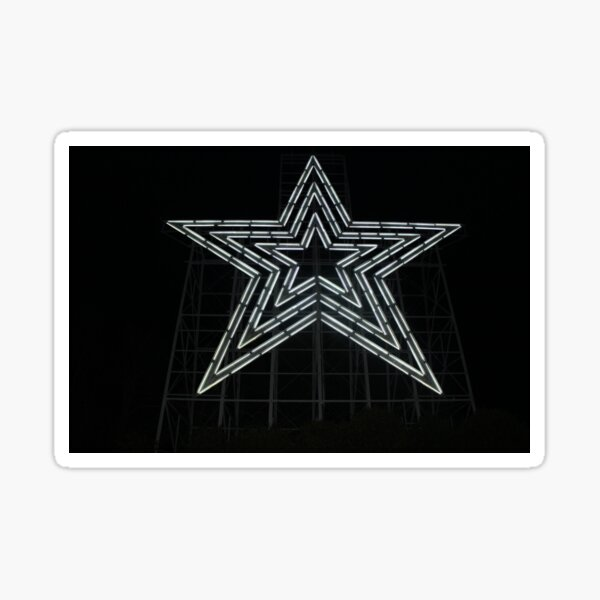 Mill Mountain Star Sticker