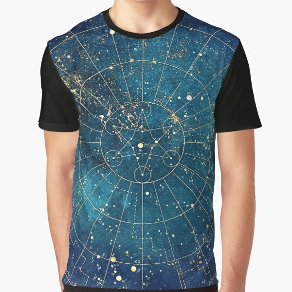 Star Map :: City Lights Graphic T-Shirt