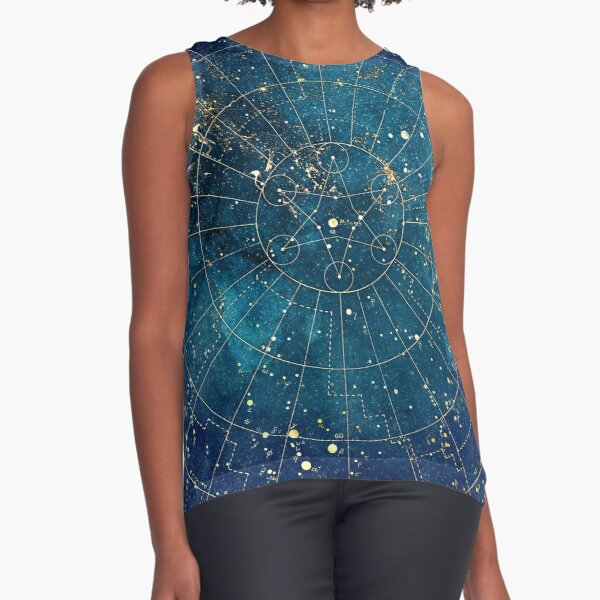 Star Map :: City Lights Sleeveless Top