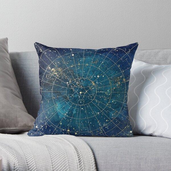 Star Map :: City Lights Throw Pillow