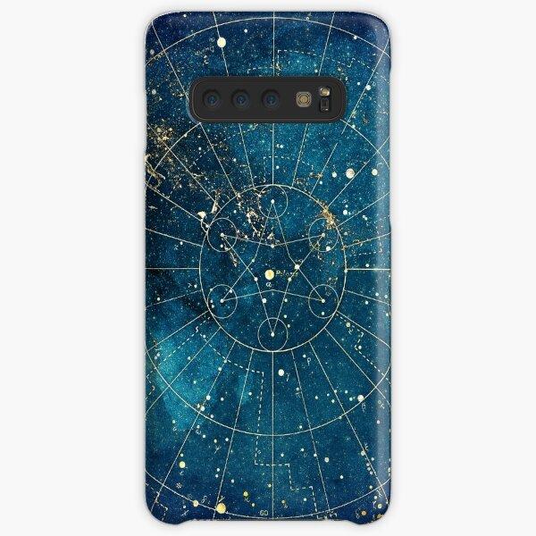 visto desde el espacio Una forma geométrica sagrada en forma de estrella se encuentra en el centro Funda rígida para Samsung Galaxy