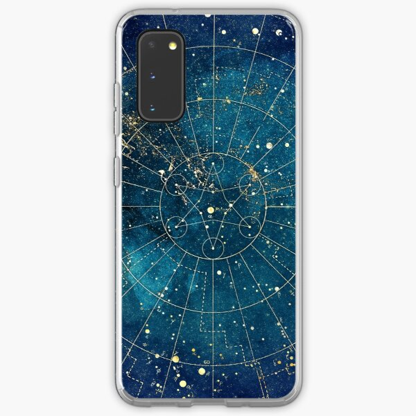 Star Map :: City Lights Samsung Galaxy Soft Case