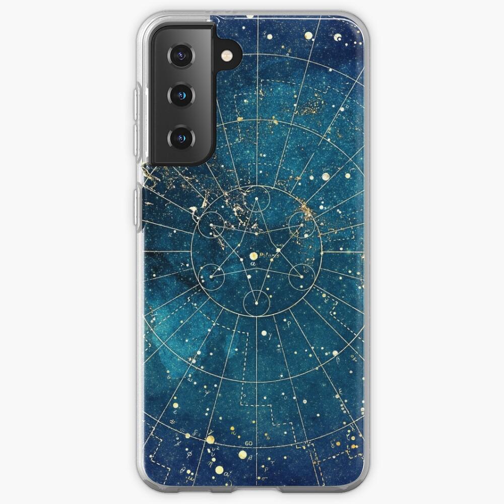 Star Map :: City Lights Case & Skin for Samsung Galaxy